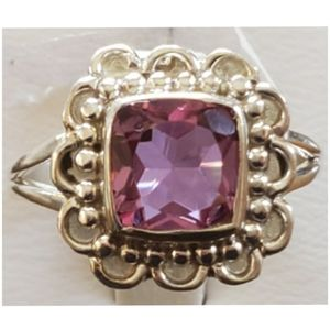 Jewelry - 2ct Color Changing Alexandrite Ring Size 8.5